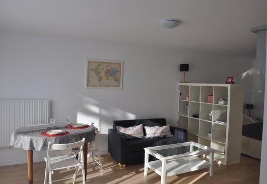 location meubl e de studio craponne. Black Bedroom Furniture Sets. Home Design Ideas