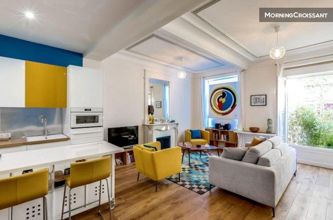 Appartement meublé à louer à Paris - Loft Chic & Atypique Pari...