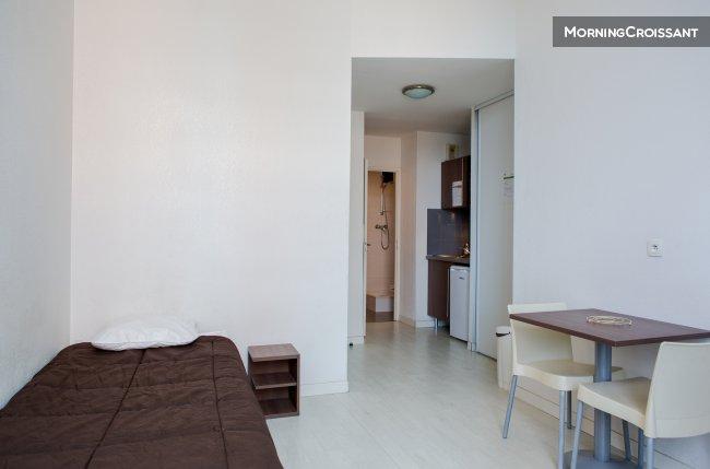 appartement meubl louer toulouse studio id alement plac. Black Bedroom Furniture Sets. Home Design Ideas