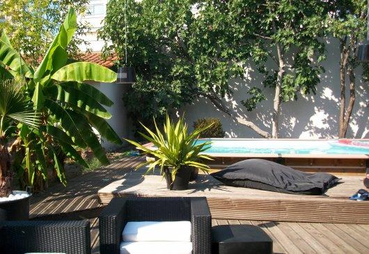 Location meubl e de maison carbon blanc - Maison bassin a flot bordeaux perpignan ...