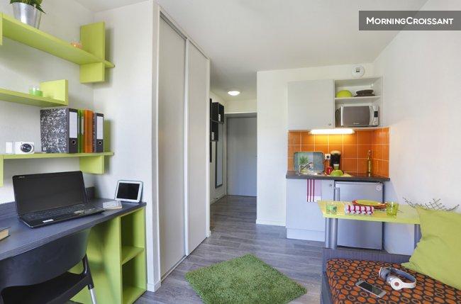 Appartement meubl louer villeurbanne beau studio - Appartement meuble villeurbanne ...