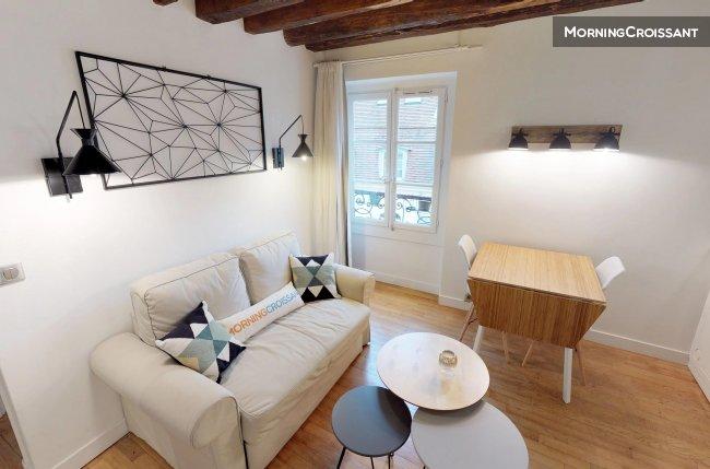 Appartement meubl louer paris chez boissy 1 chambre for Appartement meuble a louer paris