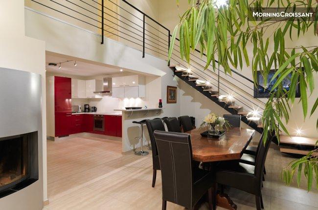 maison meubl e louer bretigny maison 7 mn de dijon to. Black Bedroom Furniture Sets. Home Design Ideas