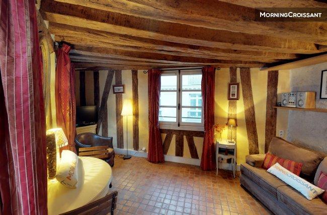 Appartement meubl louer paris piccolo roch studio for Louer studio meuble paris