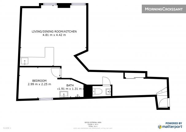 Appartement Meubl 233 224 Louer 224 Paris G03685 Charmant 2