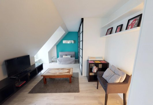 Roomy & Cosy studio near Montmartre