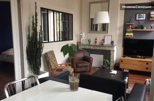 Appartement meubl louer bordeaux rare lumineux t2 for Location appartement bordeaux t2