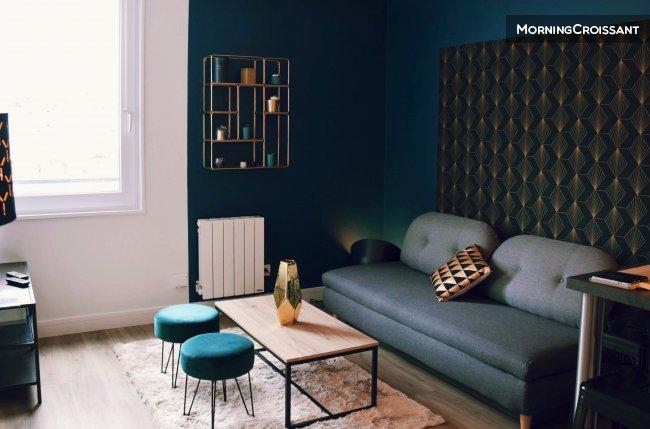 Appartement meubl louer rennes 2 pi ces chic for Location appartement bordeaux 8 personnes