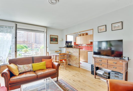 Debussy, appartement 53m2 à Clichy