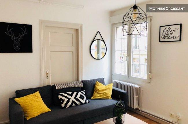 appartement meubl louer strasbourg 3 pi ces centre. Black Bedroom Furniture Sets. Home Design Ideas