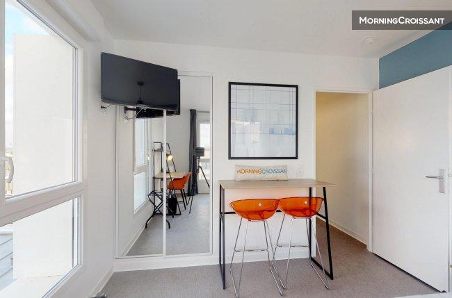 Studio meublé à louer à maisons alfort u logement en résidence étu