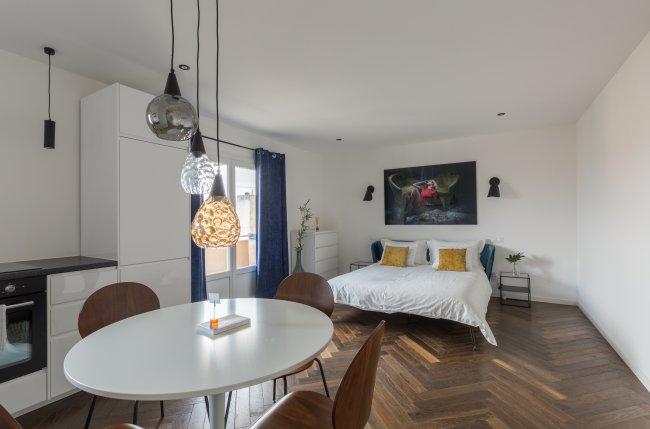 studio meubl louer annemasse el gant studio aux portes. Black Bedroom Furniture Sets. Home Design Ideas