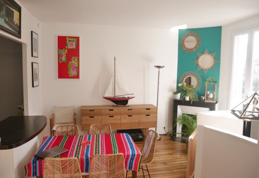 Appartement 95m² 3 chambres jardin