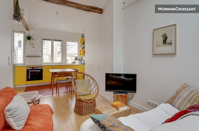 Latino, cosy deux chambres