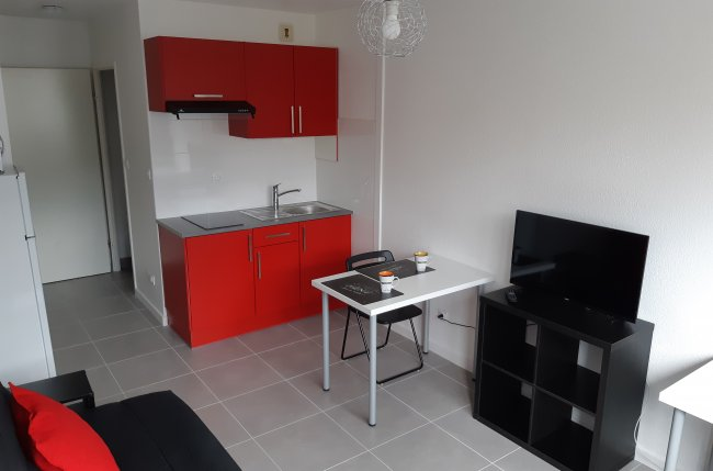 Studio & parking - Gare GEM Minatec