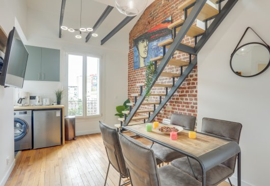 Loft chic à Paris