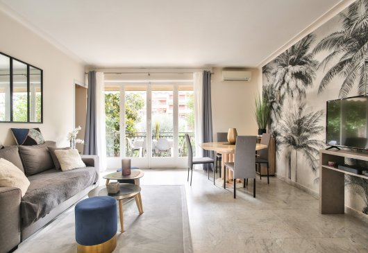 By the Beach Spacious 1BR in Cannes