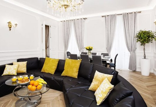 Luxury apartment renovated