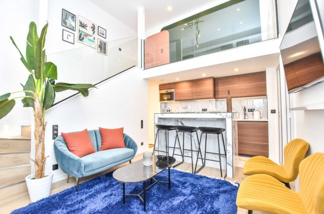 Charming apartment 2BR/6P -Pigalle